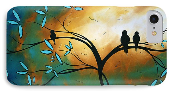 Longing By Madart Phone Case by Megan Duncanson