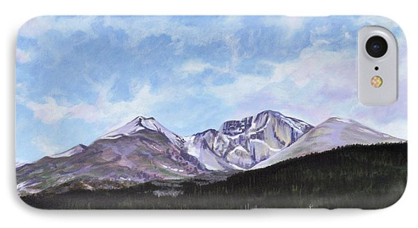 Longs Peak Vista IPhone Case by Craig T Burgwardt