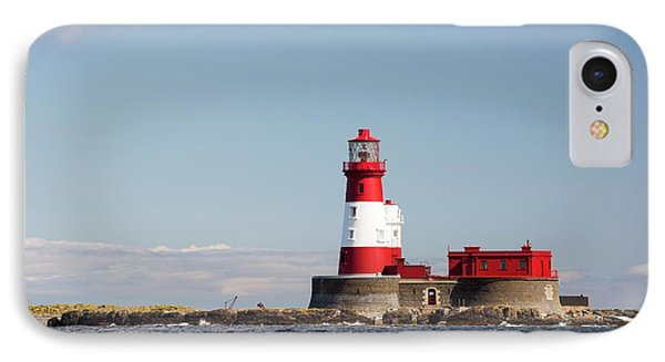 Longstone Lighthouse IPhone Case by Ashley Cooper