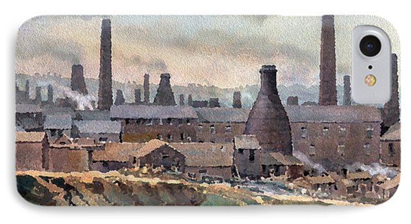 Longton Pot Works Phone Case by Anthony Forster