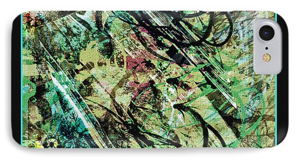 IPhone Case featuring the digital art Look For The Eye by Barbara MacPhail