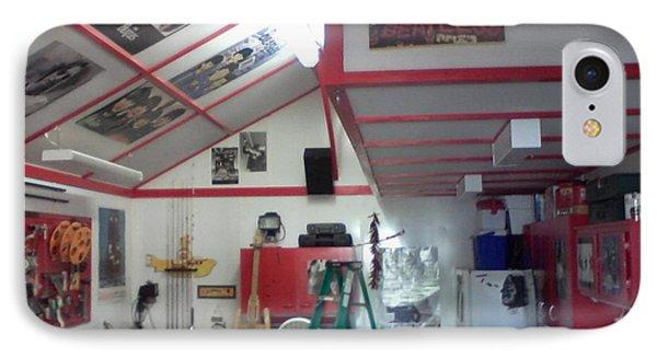 Look Inside Studio Work Shop IPhone Case