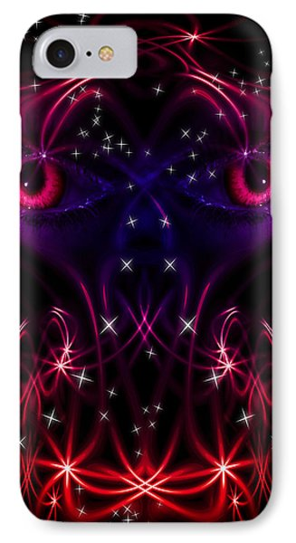 Look Into My Eyes Phone Case by Nathan Wright