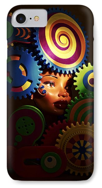 Looker IPhone Case by Jeff  Gettis