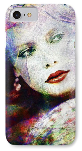 Looking At Tomorrow IPhone Case by Edmund Nagele