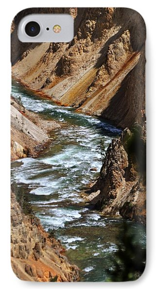 Looking Down Phone Case by Marty Koch