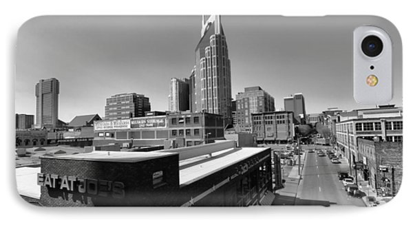 Looking Down On Nashville IPhone Case by Dan Sproul