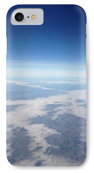 Looking Down On The Earth IPhone Case by Daniel Precht