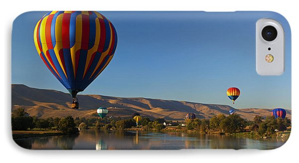 Looking For A Place To Land Phone Case by Mike  Dawson