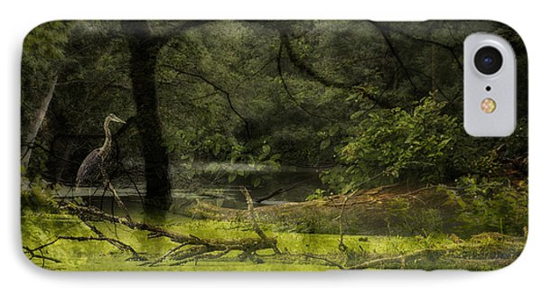 Looking For Food Merged Image IPhone Case by Thomas Woolworth
