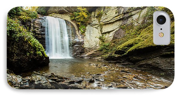 IPhone Case featuring the photograph Looking Glass Falls by Cathy Donohoue