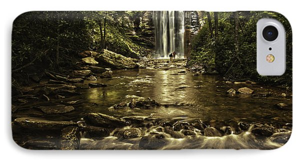 Looking Glass Falls IPhone Case