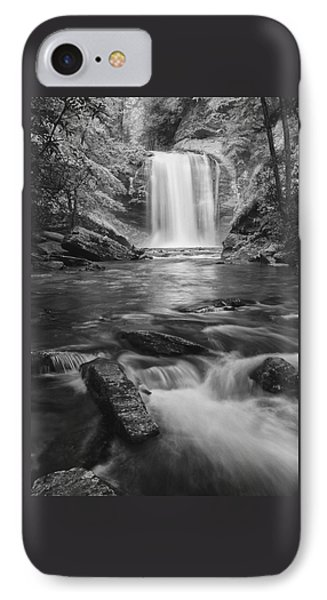 IPhone Case featuring the photograph Looking Glass Falls by Photography  By Sai