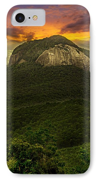 Looking Glass Rock North Carolina  IPhone Case