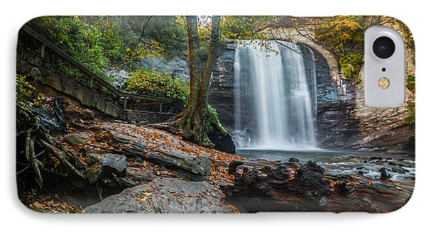 IPhone Case featuring the photograph Looking Glass Waterfall by RC Pics
