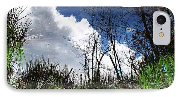 IPhone Case featuring the photograph Looking Into The Bog by Joy Nichols