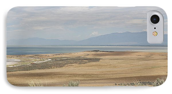 IPhone Case featuring the photograph Looking North From Antelope Island by Belinda Greb