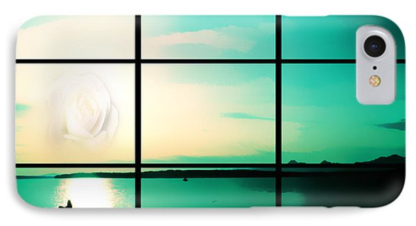 Looking Out My Window IPhone Case by Eddie Eastwood
