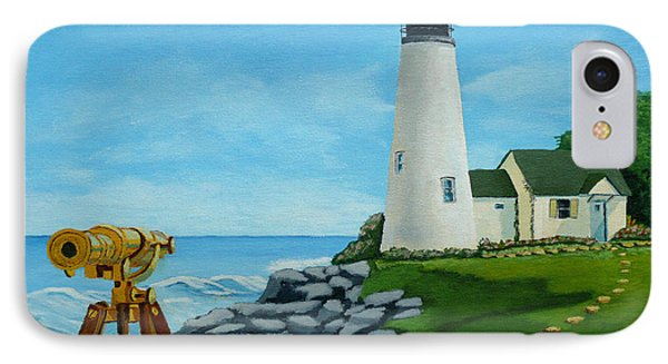 Looking Out To Sea Phone Case by Anthony Dunphy