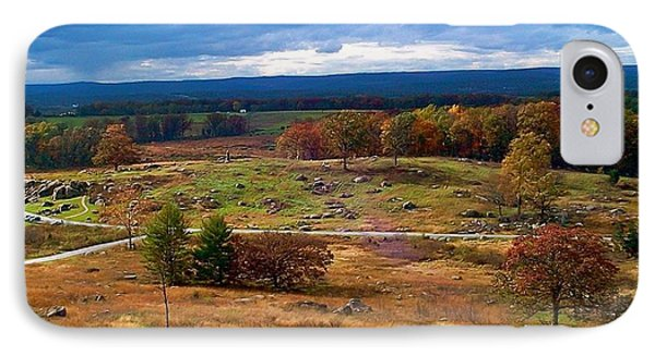 Looking Over The Gettysburg Battlefield IPhone Case by Amazing Photographs AKA Christian Wilson
