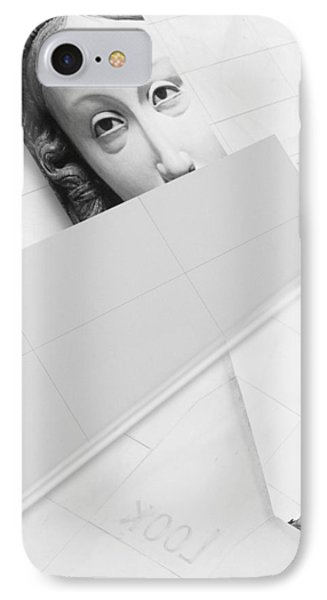 Looking IPhone Case by Richard Piper