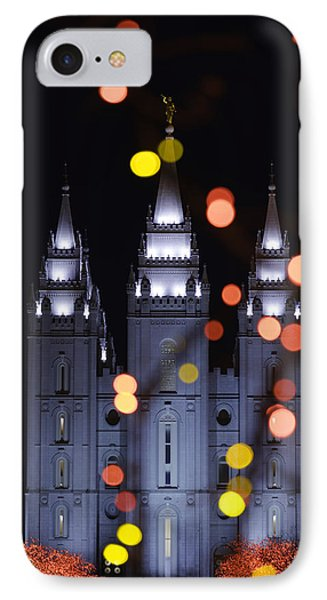 Looking Through Light IPhone Case by Chad Dutson