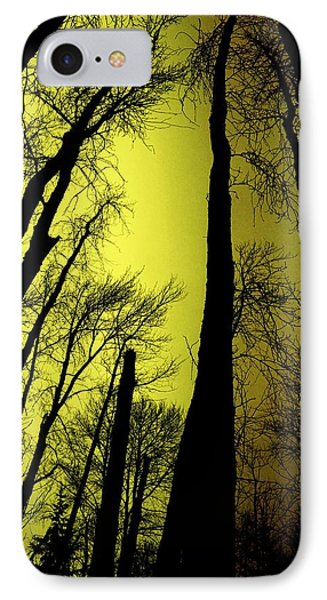 Looking Through The Naked Trees  Phone Case by Jeff Swan