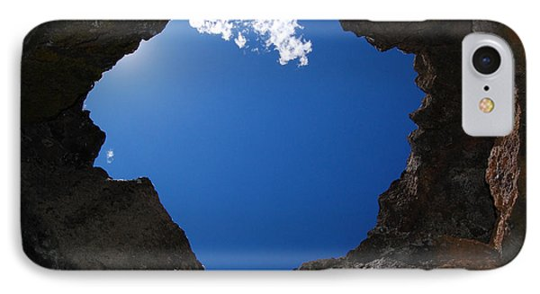 IPhone Case featuring the photograph Looking Up 2 by Debra Thompson