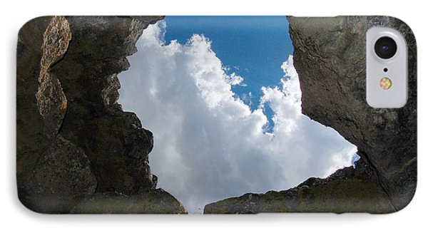 IPhone Case featuring the photograph Looking Up by Debra Thompson