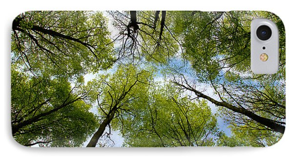 Looking Up IPhone Case by Ron Harpham