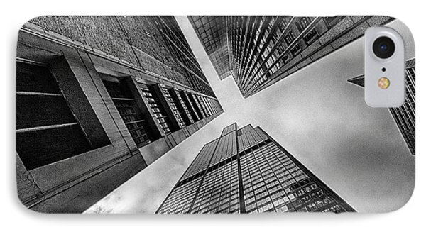 Looking Up Willis Tower IPhone Case