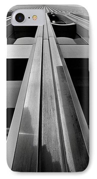 Looking-up World Trade Center IPhone Case by Wernher Krutein