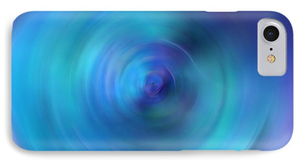 Looking Within - Energy Abstract Art By Sharon Cummings IPhone Case
