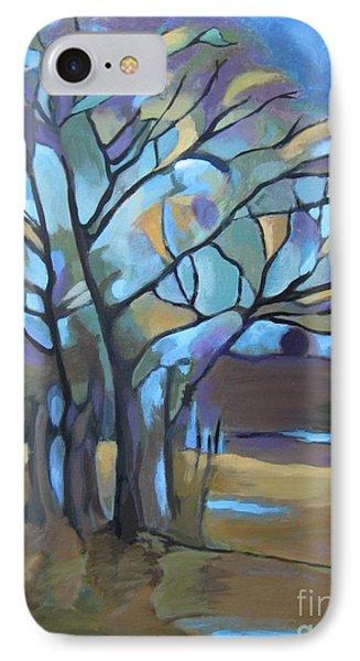 Looks Like Mondrian's Tree IPhone Case