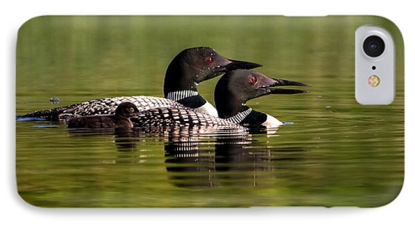Loon Family IPhone Case