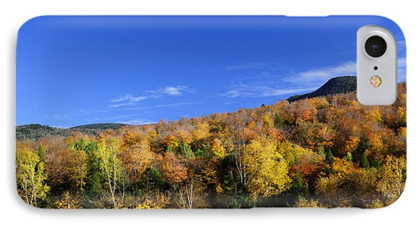 Loon Mountain Foliage IPhone Case