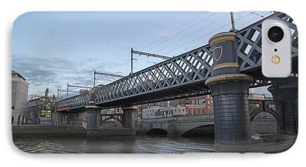Loopline Bridge Dublin Ireland IPhone Case by Betsy Knapp