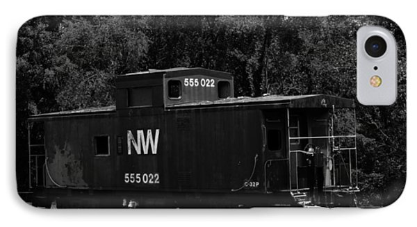 IPhone Case featuring the photograph Loose Caboose by Cathy Shiflett
