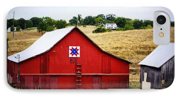 Loose Creek Quilt Barn IPhone Case by Cricket Hackmann