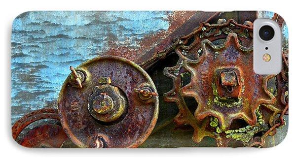 Loose Gears Phone Case by Newel Hunter