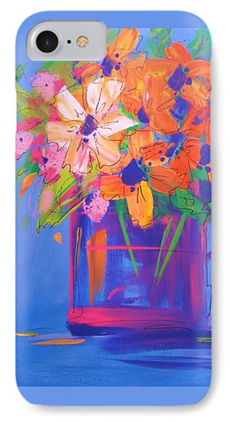 Loosey Goosey Flowers IPhone Case