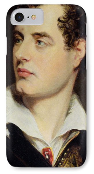 Lord Byron Phone Case by William Essex