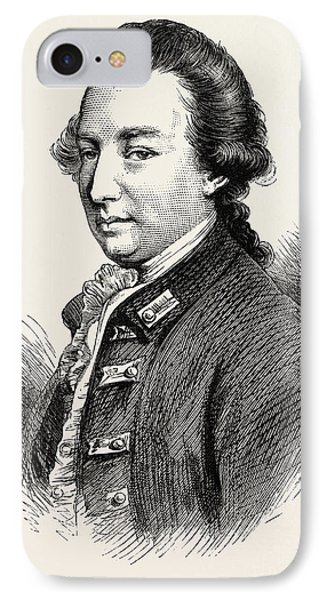 Lord Cornwallis Was A British Army Officer And Colonial IPhone Case
