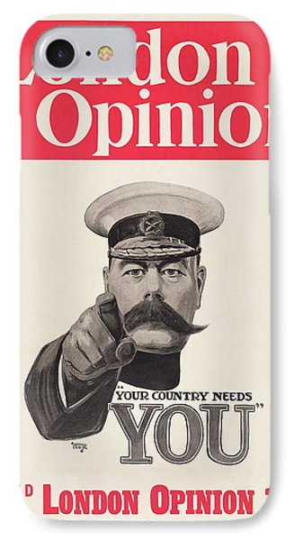 Lord Kitchener Army Recruitment IPhone Case