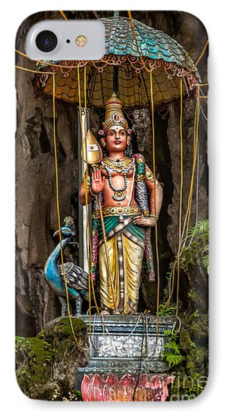 Lord Murugan Statue Phone Case by Adrian Evans