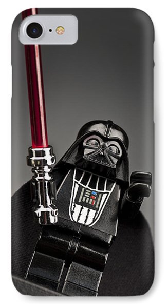 Lord Vader Phone Case by Samuel Whitton