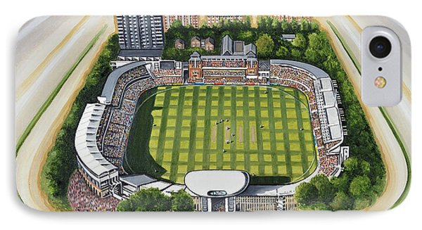 Lords Cricket Ground IPhone Case