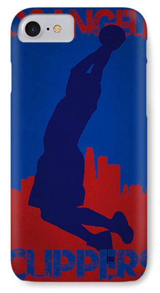 Los Angeles Clippers Blake Griffin IPhone Case by Joe Hamilton
