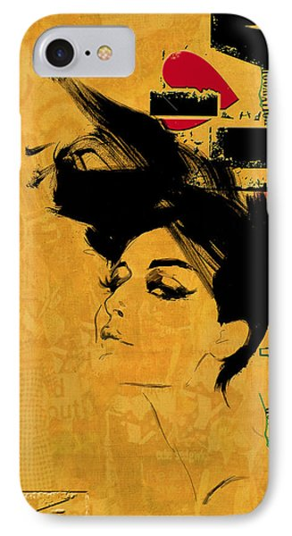Los Angeles Collage 2 Phone Case by Corporate Art Task Force