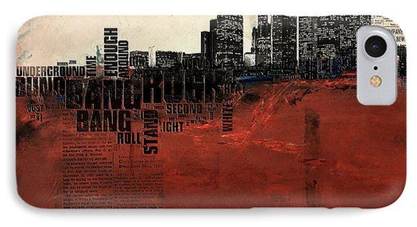 Los Angeles Collage 3 Alternative IPhone Case by Corporate Art Task Force